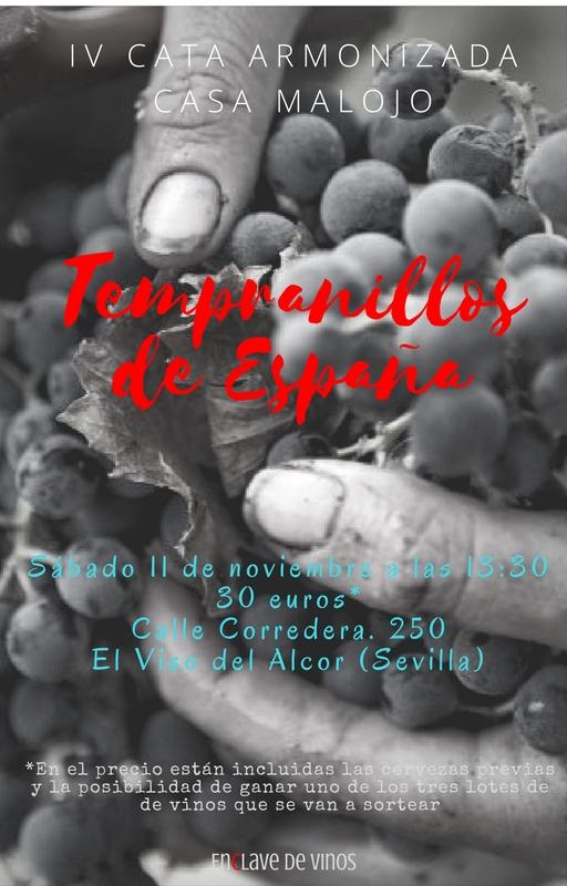 IV CATA ARMONIZADA MALOJO Tempranillos de España